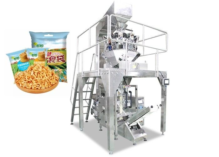 500g 1kg 5kg Automatic Parched Rice Grain Packing Machine For Chemical , Food