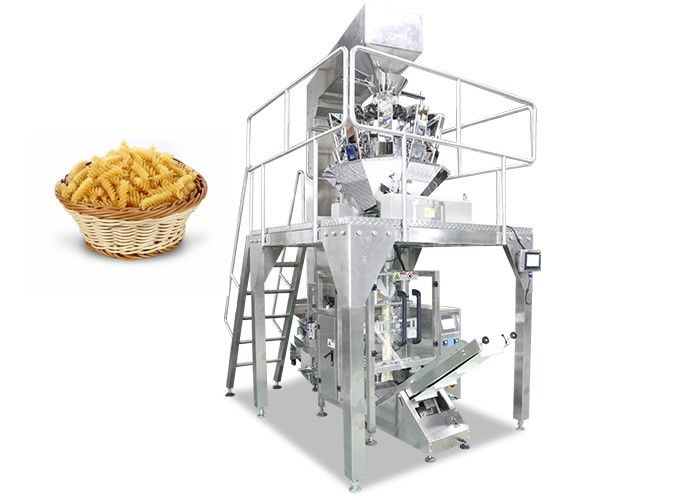 Automatic Spaghetti Noodle Packing Machine with Multi Heads Weigher