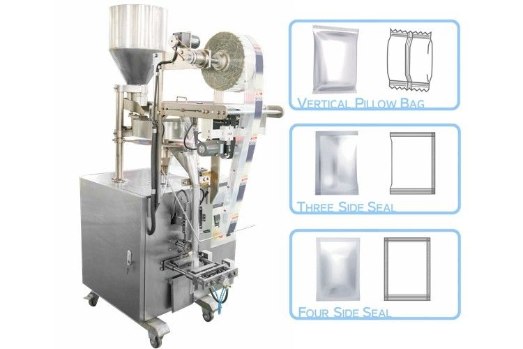 Automatic Vertical Small Snacks Packing Machine High Speed 5 - 70 Bags / MIN